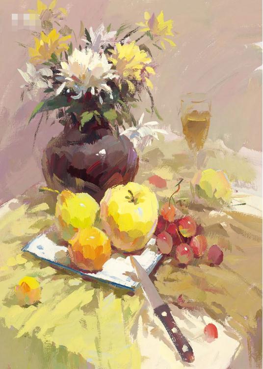 """广州画室排名前三画室告诉你如果让你的色彩作品""""锦上添花"""",06"""