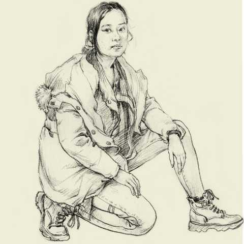 广州美术高考培训画室干货分享   速写基础之单人起形抓形技巧!