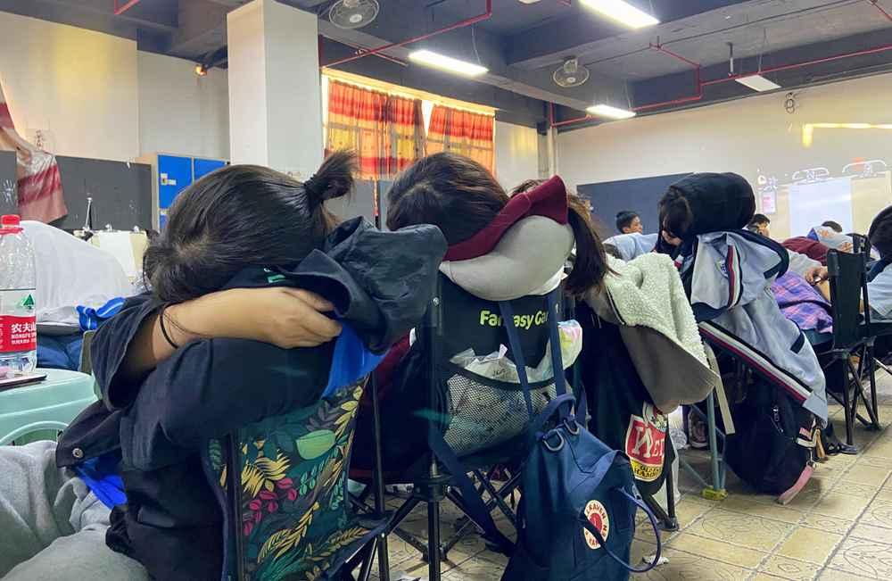 经过广州美术高考班围墙魔鬼特训后的你们!联考一定必胜,29