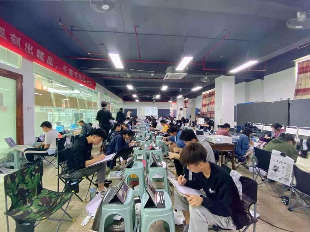 21届广州围墙画室【魔鬼特训】—16小时挑战一切不可能,02