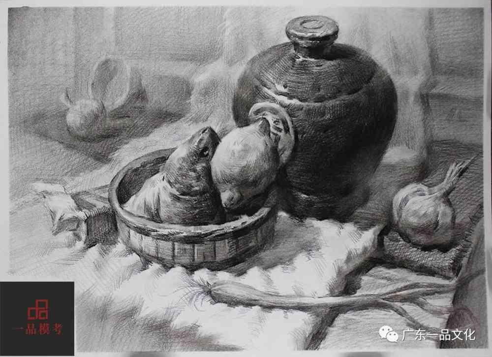 """广州十大画室带你看了21届广东一品""""一模""""素描卷别自闭哦,06"""