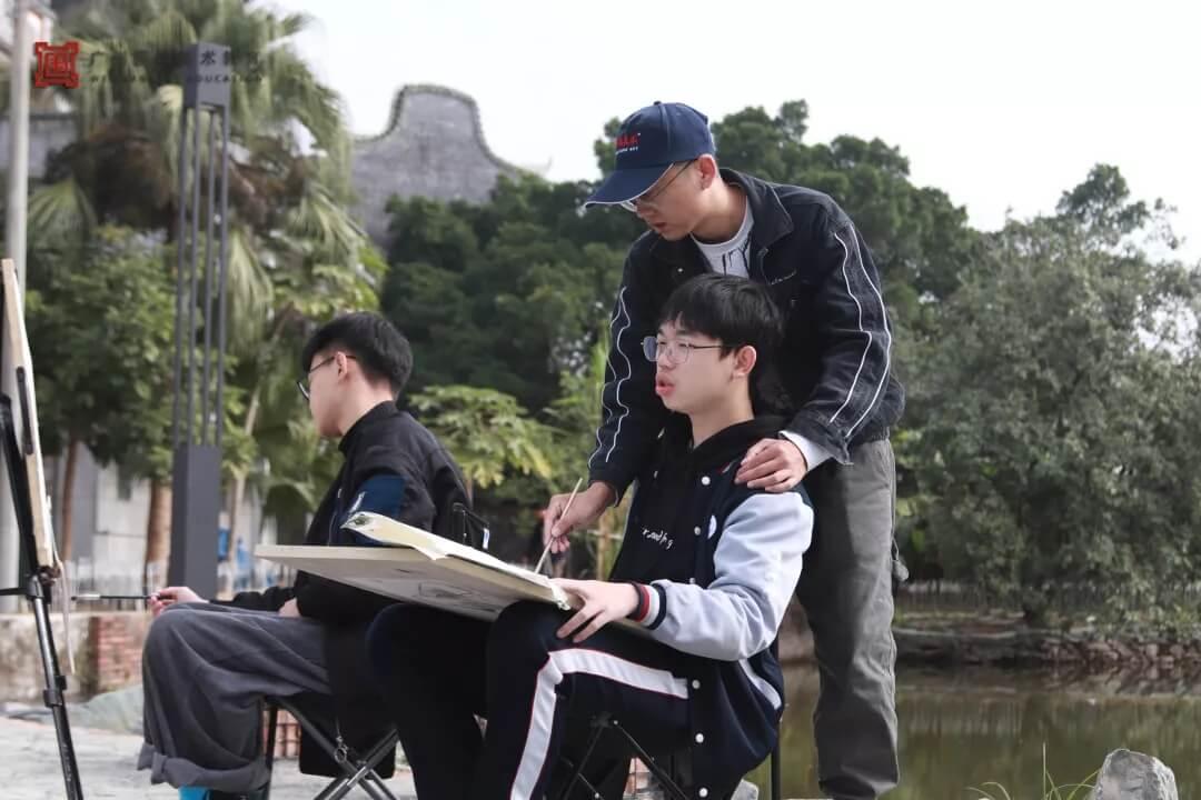 广州围墙画室,围墙画室,广州围墙美术培训,17