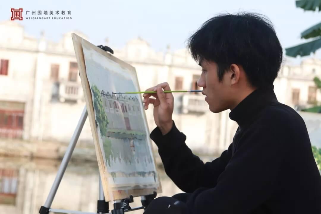 广州围墙画室,围墙画室,广州围墙美术培训,14