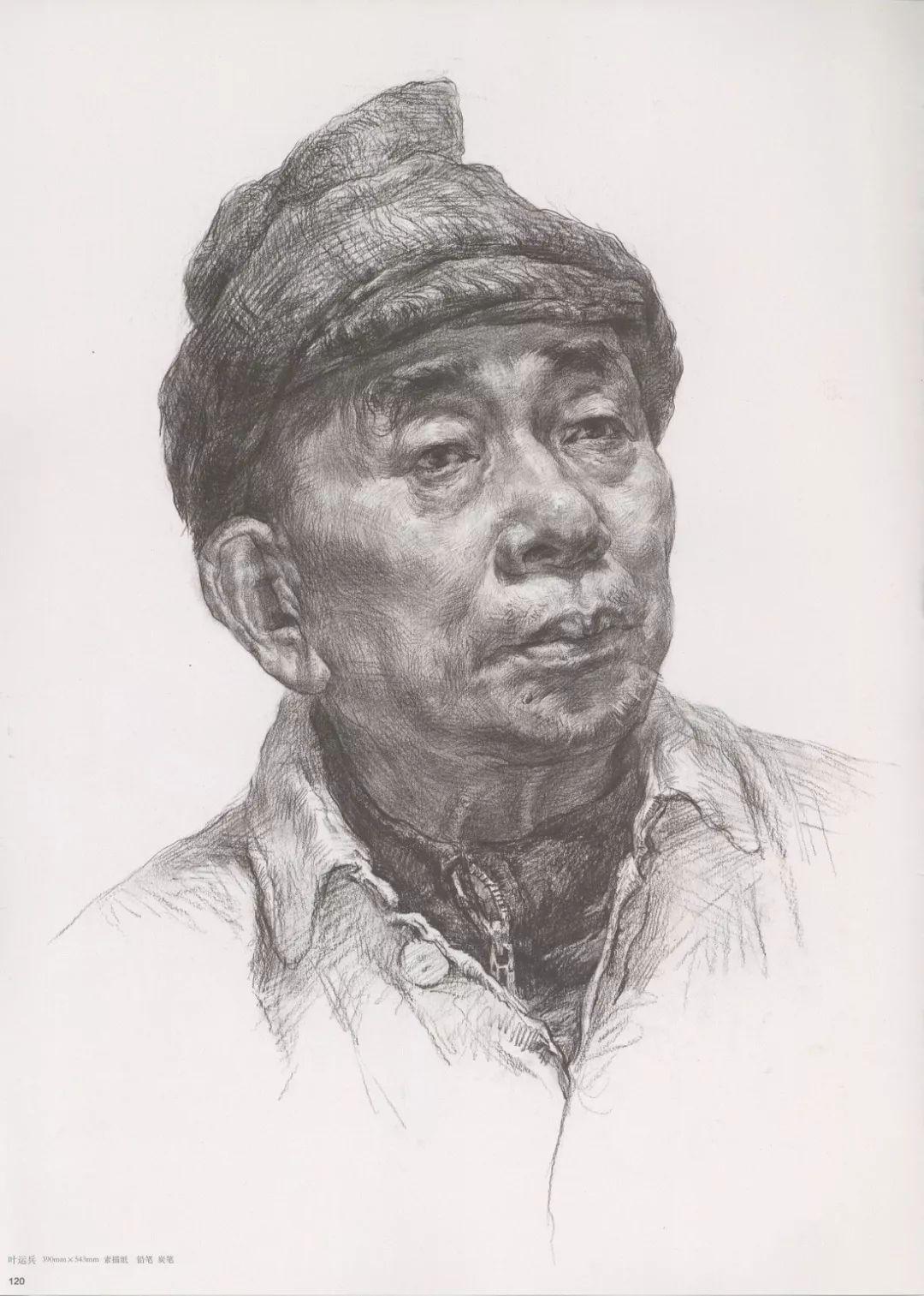 画老人素描头像就犯怂,掌握了广州十大画室整理的这两点就不怂了,27