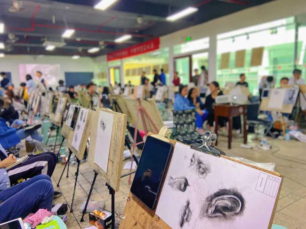 21届广州围墙画室【魔鬼特训】—16小时挑战一切不可能,08