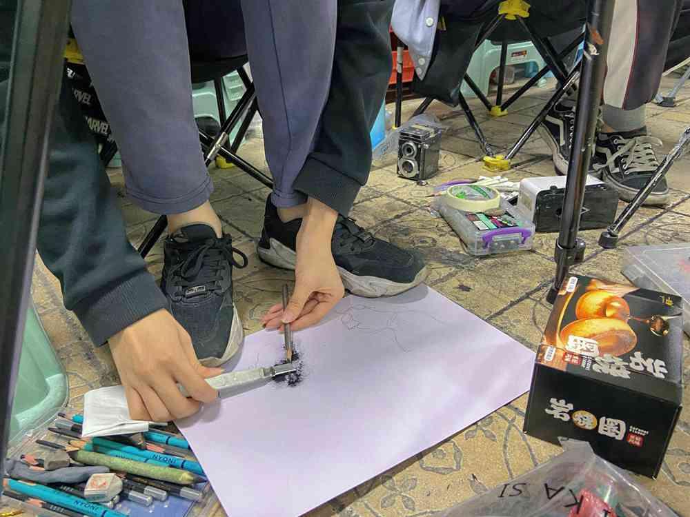 经过广州美术高考班围墙魔鬼特训后的你们!联考一定必胜,23