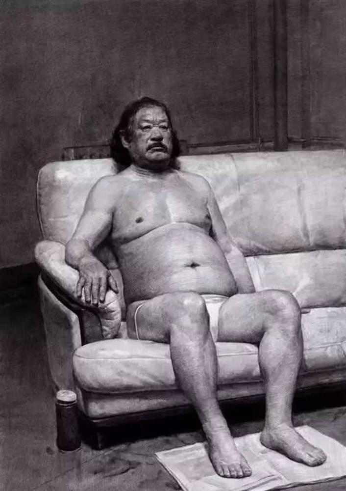 素描作品不会深入?广州画室排名前五画室带你看央美作品怎么画,39