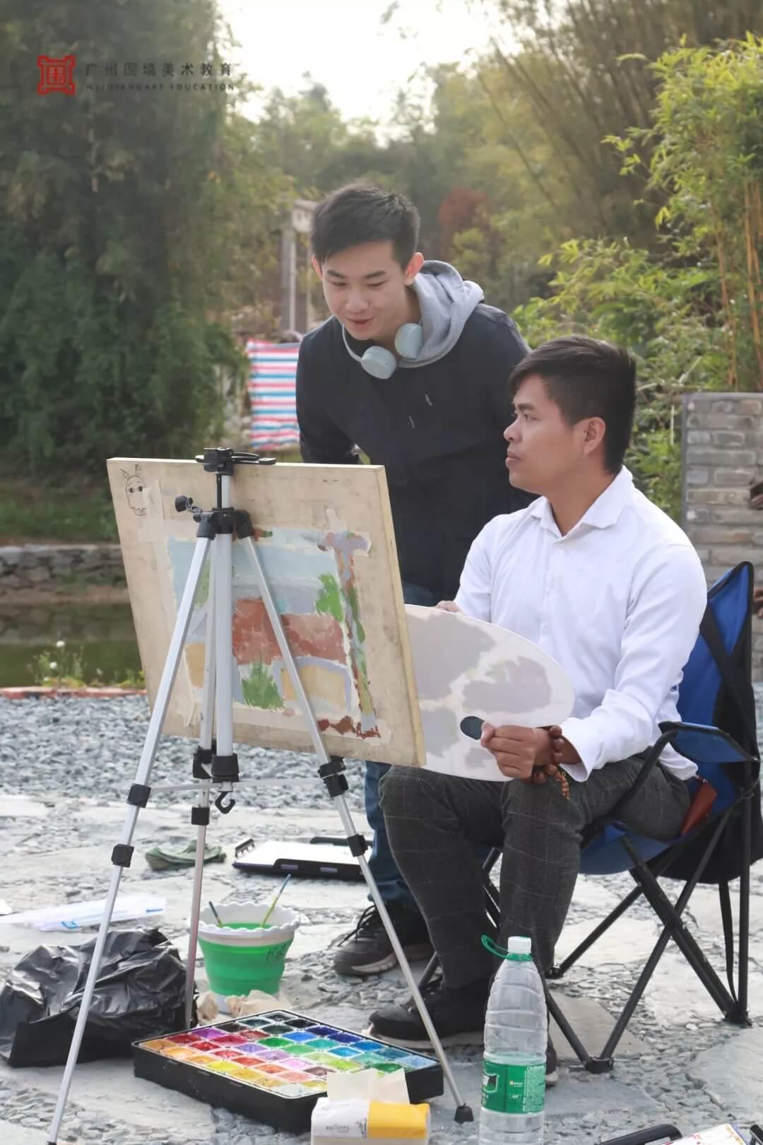 广州围墙画室,围墙画室,广州围墙美术培训,10