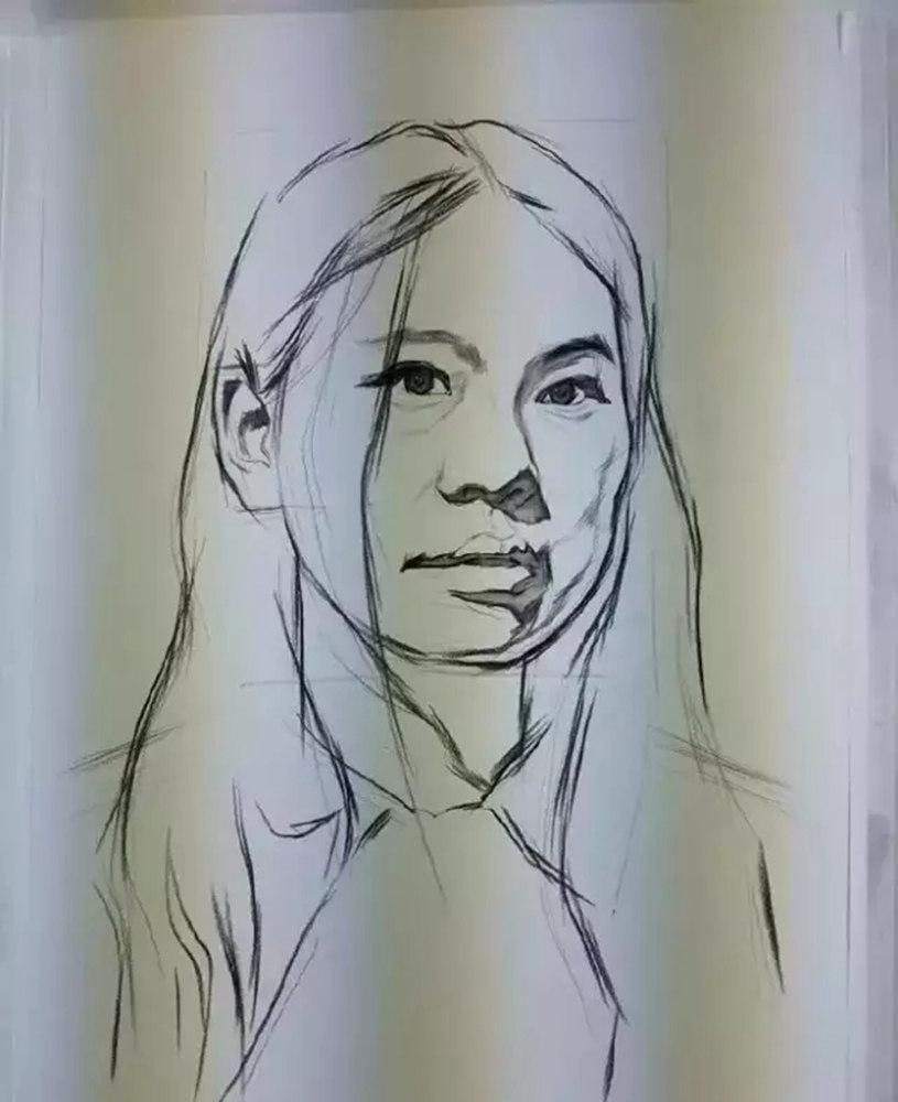 广州围墙画室,广州围墙美术培训中心,广州素描培训,11