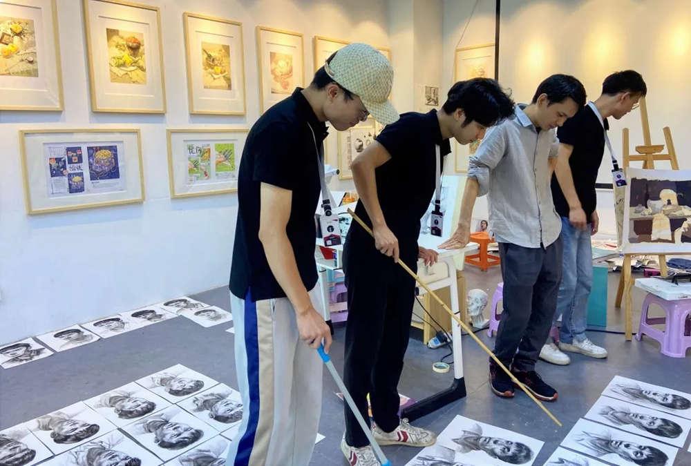 广州围墙画室2021届第一次月考,不知你们的战绩如何!