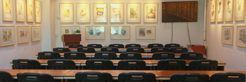 广州画室环境,广州美术培训班环境,广州围墙画室环境