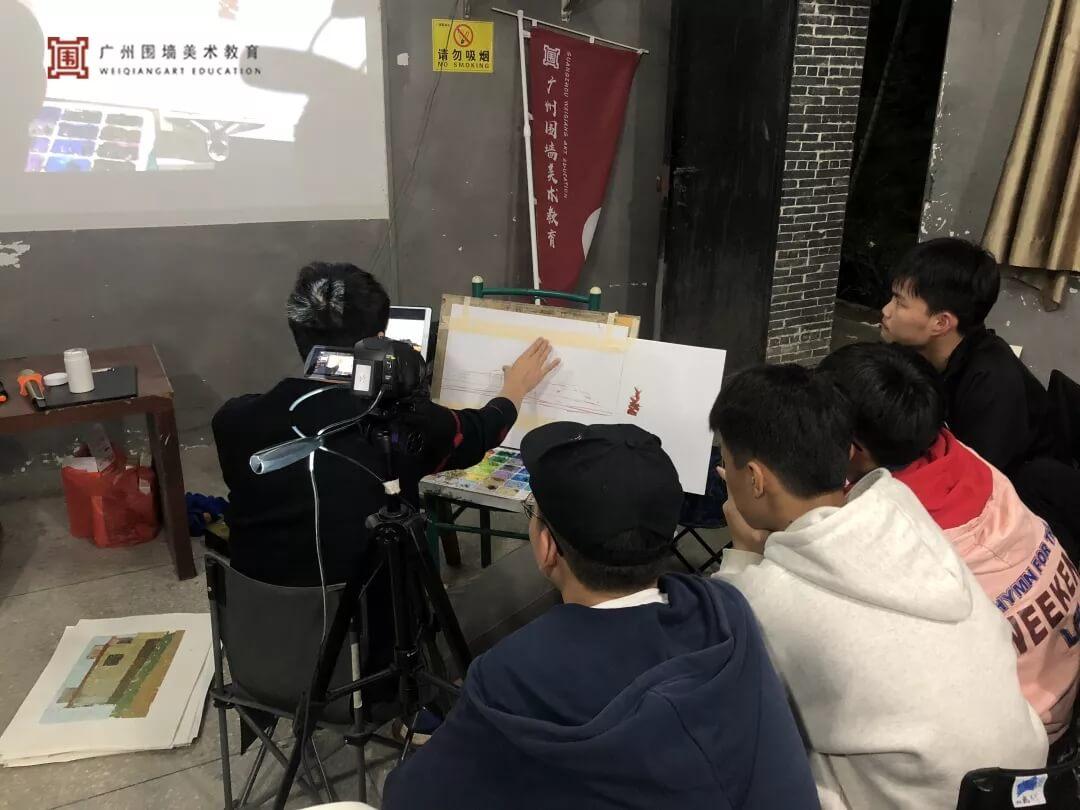 广州围墙画室,围墙画室,广州围墙美术培训,13