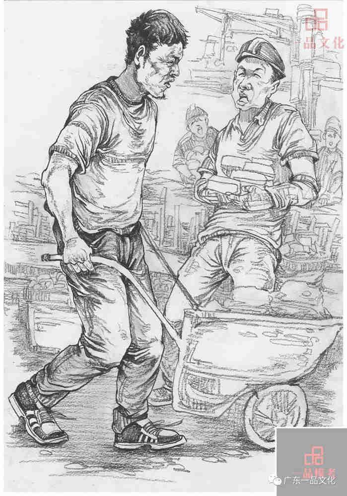 今天广州十大画室老师送你近两年广东模考速写高分卷,72