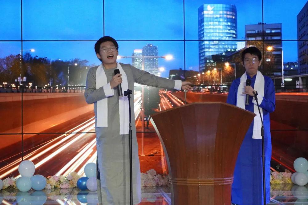广州前十画室围墙迎新晚会精彩回顾|筑梦远航,音你而精,25