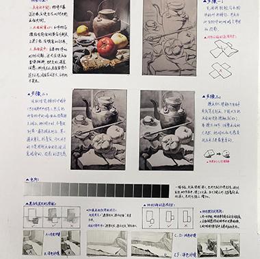 广州围墙画室色彩教学,广州色彩美术培训,广州美术色彩画室