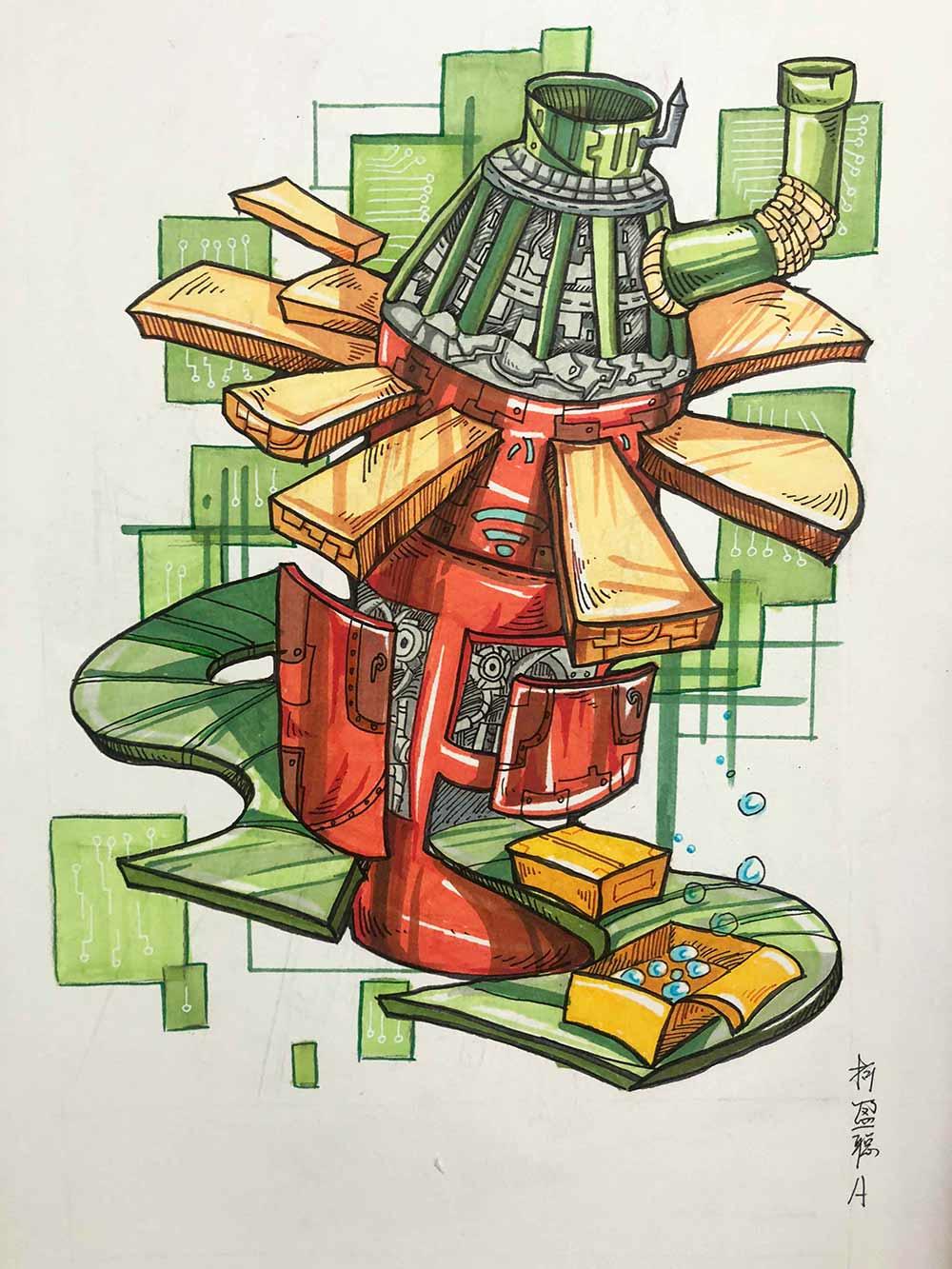 广州画室设计培训,广州设计集训画室,广州设计美术培训班