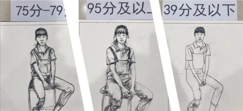 最新美术联考一模评分标准,广州十大画室给你实锤有图有真相,01