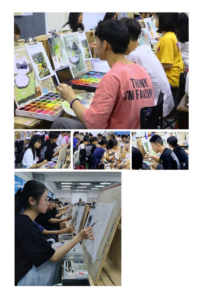 广州围墙画室2021届第一次月考,不知你们的战绩如何,06