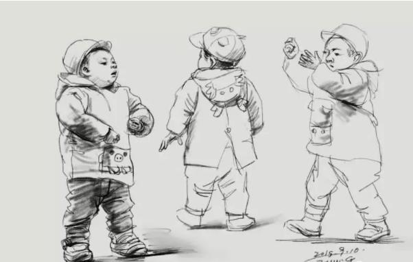 广州艺考画室教你3步学会速写人物中节奏感的把握