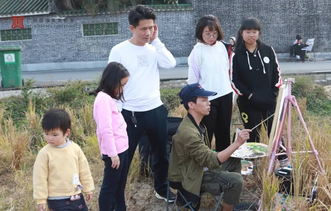 广州围墙画室,围墙画室,广州围墙美术培训,09