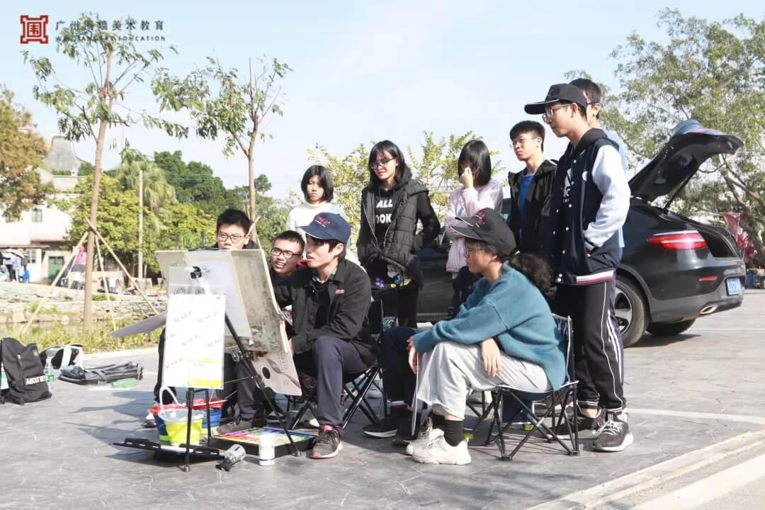 广州围墙画室,围墙画室,广州围墙美术培训,08