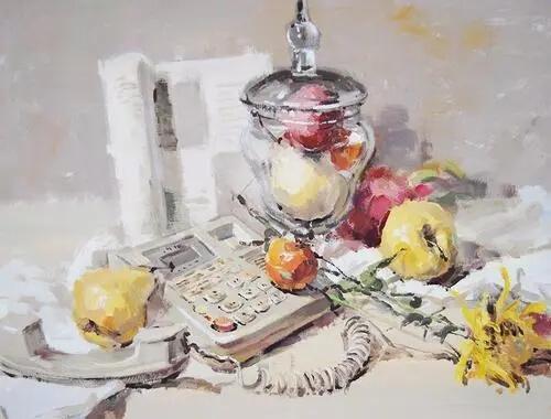 广州画室美术生要注意整体意识,色彩静物才能快速提高!