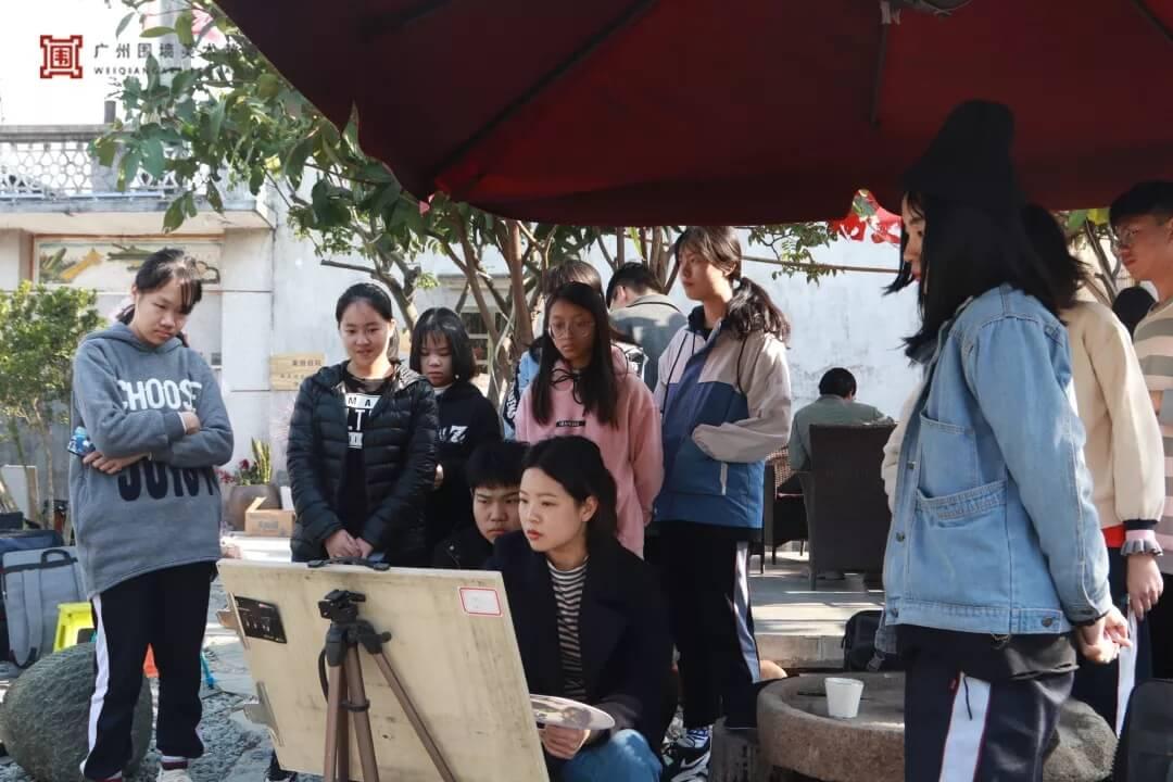 广州围墙画室,围墙画室,广州围墙美术培训,07