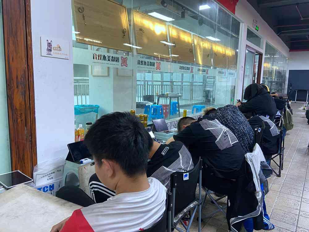经过广州美术高考班围墙魔鬼特训后的你们!联考一定必胜,18