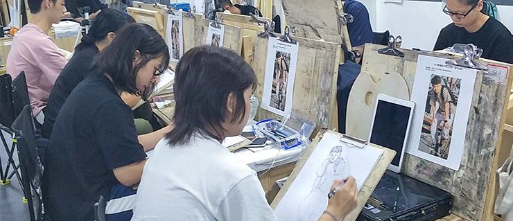 广州围墙画室招生,广州美术培训班,广州画室招生简章