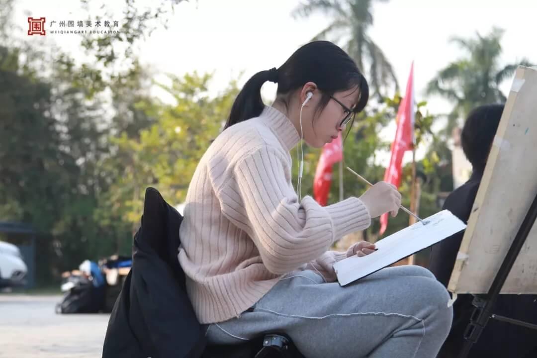 广州围墙画室,围墙画室,广州围墙美术培训,11